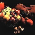 Still Life with Violin by Roger Passman