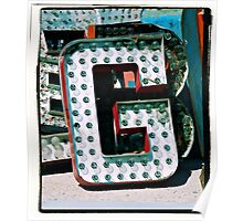 The Letter G Poster