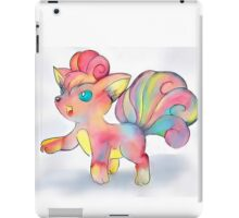 Rainbow Fire Fox (Vulpix) iPad Case/Skin