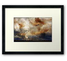On the Edge of Wonderful. Framed Print