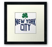 New York City Irish Framed Print