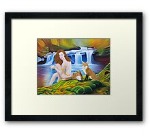 The Sacred Spring Framed Print