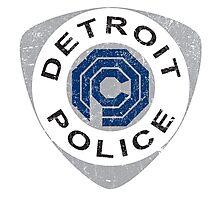 Detroit Police - Robocop Photographic Print