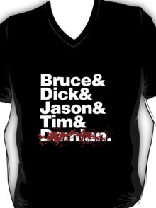 Bruce and the Boy Wonders (RIP VERSION) T-Shirt