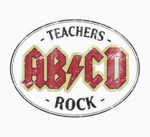 Vintage Teachers Rock - light by medallion