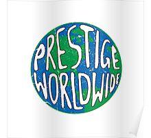 Vintage Prestige Worldwide Poster