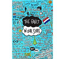 The Fault in Our Stars Collage Photographic Print