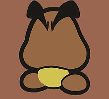 Goomba minimalist by Gbagel