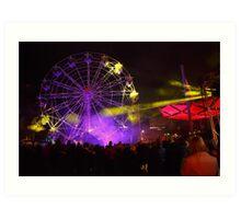 Dark MOFO, Ferris Wheel #2 Art Print