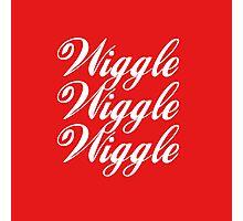 Wiggle Wiggle Wiggle Photographic Print