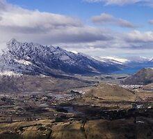 View from Coronet Peak by Nigel Roulston