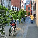 Melbourne laneway by Maggie Hegarty