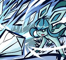 Glaceon | Ice Shard by ishmam