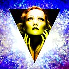 Marlene Dietrich golden  sunrise by sebmcnulty