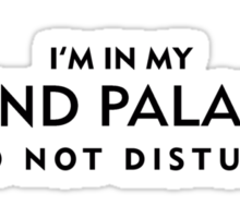Mind Palace Black Sticker
