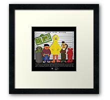 The Usual Muppets Framed Print