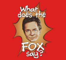 What Does The Michael J Fox Say? Kids Clothes