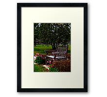 A Time For Everything (please read verse)  Framed Print