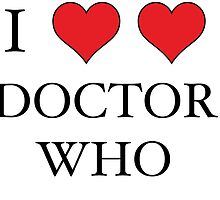 I Heart (x2) Doctor by ConceptCMDTY