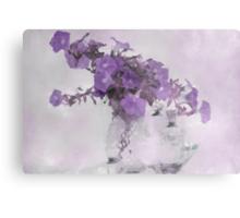 The Broken Branch - Digital Watercolor Metal Print