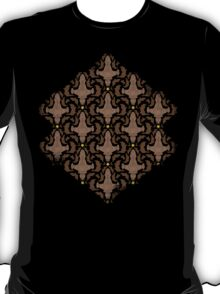 Leaf on the Wind Damask T-Shirt