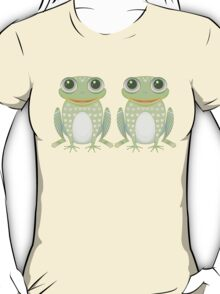 Chummy Twin Frogs T-Shirt