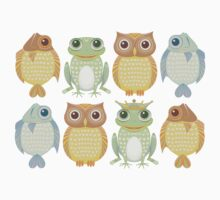 King Frog & 7 Friends Kids Clothes
