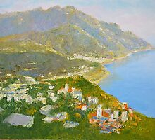 Minori and Ravello, Amalfi Coast, Southern Italy by Dai Wynn