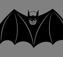 1940 - Batman Comic Logo by Jaybergs