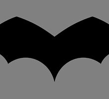 1939 - First Batman Symbol by Jaybergs