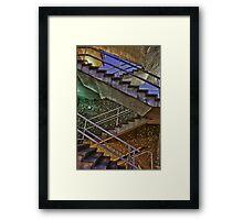 Staircase Spectrum Framed Print