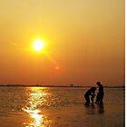 Summertime Family Sunset by DAngelo982