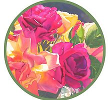 """Rose Bowl, circle"" by Judy  Koenig"