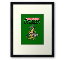 Teenage Muntant Ninja Tonberry Part 2 Framed Print
