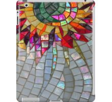 Star Flower,  photography of shiny mosaic - JUSTART © iPad Case/Skin