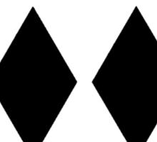 Double Black Diamond 2 Sticker