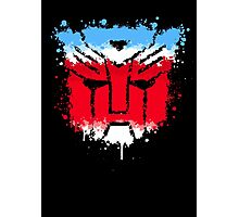 Autobots splash out Photographic Print