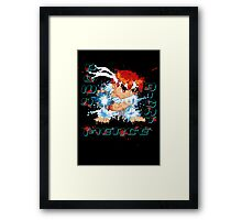Down Right Fierce - RYU Framed Print