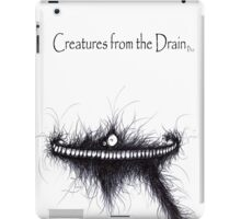 the creatures from the drain 15 iPad Case/Skin
