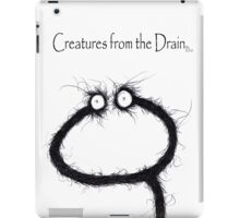the creatures from the drain 13 iPad Case/Skin