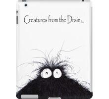 the creatures from the drain 8 iPad Case/Skin