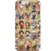 Hetalia Group iPhone Case/Skin