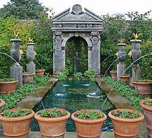 Arundel Castle Gardens by RedHillDigital