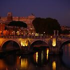 Ponte Sant'Angelo by Rae Tucker