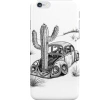 Beetle - End of the Road 'Signed' iPhone Case/Skin