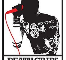 DEATH GRIPS / MC RIDE by JDIB