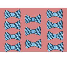 Retro bow tie poster Photographic Print