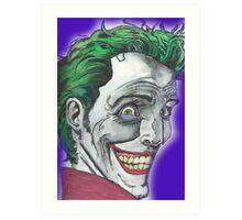 The Joker - The Killing Joke Art Print