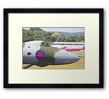 The Spirit Of Great Britain - Farnborough 2014 Framed Print