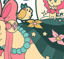 Magical Girl Turtle Sticker